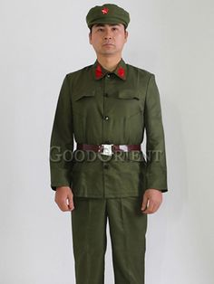 Men of the Red Guard Costume