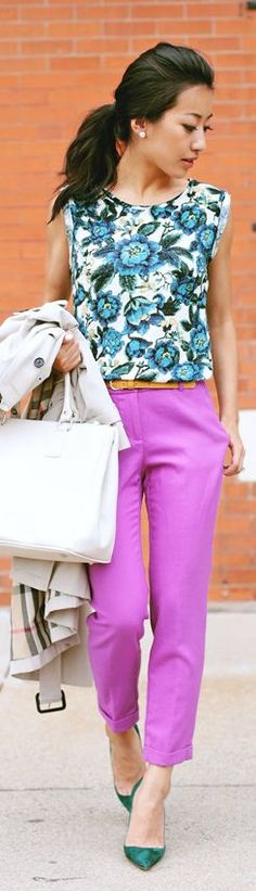 Pink Street Chic Crop Trousers by Extra Petite