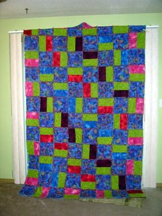 Ragtime Quilt for Abby 2006