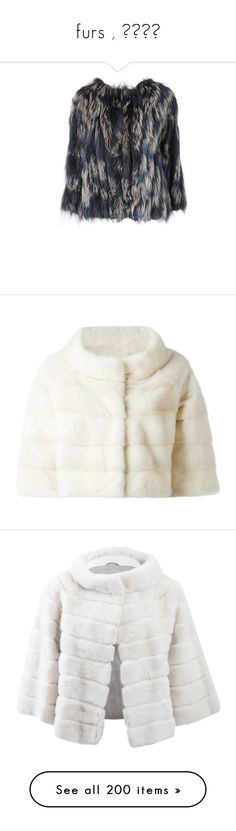 """furs , فراء"" by isror ❤ liked on Polyvore featuring outerwear, jackets, diane von furstenberg jacket, fur jacket, diane von furstenberg, fur, coats, coats & jackets, white and white fur jacket"
