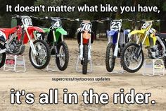 It's all in the Rider