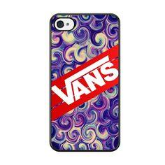 Vans Purple Swirls Stripe For Iphone 5 Iphone 5S Iphone SE Case