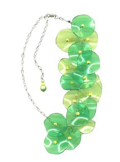 lilypads Pearl Necklace, Pearls, Jewelry, String Of Pearls, Jewlery, Jewerly, Beads, Schmuck, Pearl Necklaces