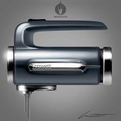 TroWATT Hand Mixer on Behance