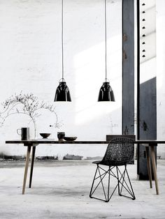 Caravaggio BlackBlack P2 designed by Cecilie Manz http://www.lightyears.dk/lamps/pendants/caravaggio-blackblack/caravaggio-p2.aspx