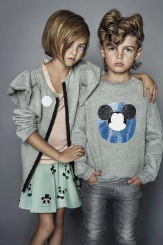 Karolina Henke for Mama - high fashion kids style Fashion Kids, Little Fashion, Look Fashion, Girl Fashion, Fashion Outfits, Trendy Kids, Cute Kids, Kids Fashion Photography, Kid Styles
