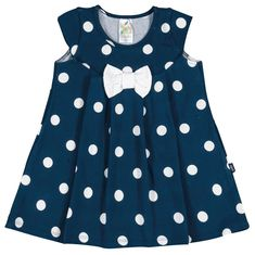 Pulla Bulla Baby Girl Infant Bow Polka Dot Dress 69 Months Navy -- Click on the image for additional details.(It is Amazon affiliate link) #BabyGirlClothingCollection Baby Girl Dresses Diy, Little Girl Dresses, Baby Dress Design, Frock Design, Frocks For Girls, Kids Frocks, African Dresses For Kids, Kids Dress Patterns, Baby Frocks Designs