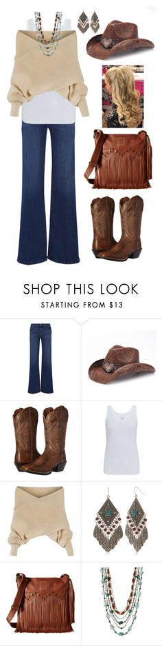"""everyday hats"" by annalynn2424 ❤ liked on Polyvore featuring Frame, Peter Grimm, Ariat, Majestic, WithChic, Red Camel, STS Ranchwear and Stephen Dweck"