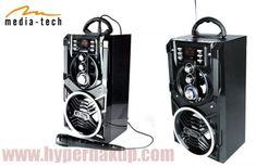 Prenosný PartyBox  Media-Tech BT MT3150 Karaoke, Bookends, Bluetooth, Smartphone, Notebook, Tech, Shopping, The Notebook, Technology