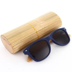 671a53532dda Wooden Sunglasses Polarized Men with Bamboo Case