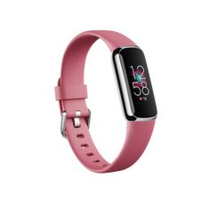 Fitness Trackers | Shop Fitbit Luxe Fitness, Steel Fitness, Wellness Fitness, Physical Fitness, Fitness Band, Stress Management, Smartwatch, Target Heart Rate, Pink