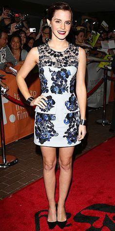 Emma Watson in Erdem dress