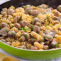 Clean Eating Mushroom Stroganoff