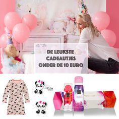 Kleine cadeautjes voor meisjes tot 10 euro   GIRLSLABEL Make Up Doos, Holi, Euro, Party Ideas, Girls, Toddler Girls, Daughters, Maids, Holi Celebration