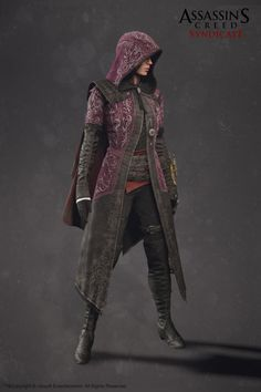 """heroineimages: """" sekigan: """" ArtStation - Evie Frye Outfit - Assassin'S Creed Syndicate, Sabin Lalancette """" Very classy! """""""