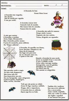 Ler com prazer: Dia das Bruxas ( Halloween )
