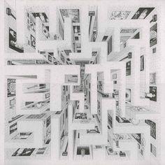 Viva Last People  2006, pencil on paper, 30 x 30 cm