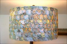 map lamp shade...