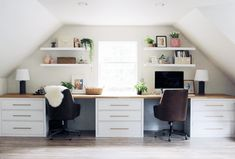Ikea DIY ikea furniture 12 Money Saving Ikea Desk Hacks You Cannot Afford To Miss In 2019 The post 12 Best Ikea Desk Hacks (You Won& Believe Came From Ikea appeared first on Brenda Card. Ikea Hacks, Desk Hacks, Ikea Furniture Hacks, Hacks Diy, Ikea Hack Desk, Ikea Office Hack, Office Hacks, Furniture Projects, Ikea Hemnes Desk