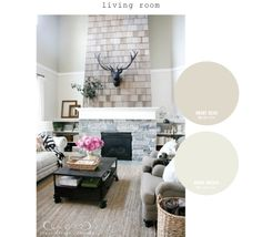 paint colors used in our home