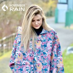 November Rain ponchos, stylish and practical! You can't say that too often!   Thanks for the fab photo www.bootyandbeautyblog.com