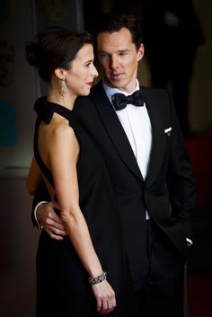 SO much love. | Benedict Cumberbatch Staring At His Fiancée Is The Real Life Version Of The Heart Eyed Emoji