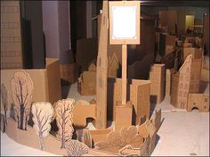 Cardboard city of Leicester.