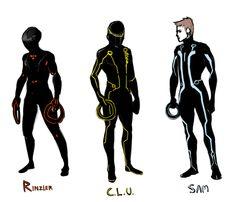 Tron Legacy by SuperKusoKao on deviantART