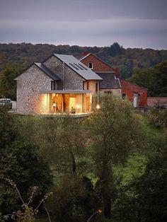Villers-en- Fagne, Belgium Renovation & extension of a holiday house Dehullu Architecten