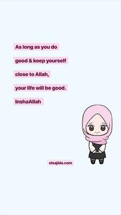 #quotes #islamicQuotes #hijabi #cartoonHijabi #hijab #elsajida #islamicReminder #unniedoll #islam Muslim Quotes, Islamic Quotes, Wise Quotes, Qoutes, New Reminder, Motivational, Inspirational Quotes, Duaa Islam, Islamic Girl