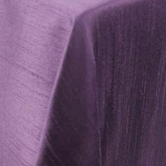 Dupionique | Color: Purple - La Tavola Fine Linen