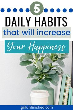 5 activities you can do every day that will increase your happiness. Meditation Benefits, Finding Happiness, Self Development, Personal Development, Positive Mindset, Positive Affirmations, Self Care Routine, Mindful Living, Emotional Intelligence