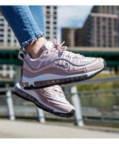 on sale 082a8 051f6 Femme Nike Air Max 98 Rose Blanc ModeFranceStyle