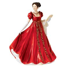 Royal Doulton Eleanor 2015 Figure of the Year Figurine. #RoyalDoulton #Christmas #Tree #Decor #Figurines #Gift #Giftideas #gosstudio .★ We recommend Gift Shop: http://www.zazzle.com/vintagestylestudio ★