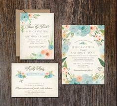 Hey, I found this really awesome Etsy listing at https://www.etsy.com/listing/242613580/printable-wedding-invitation-suite