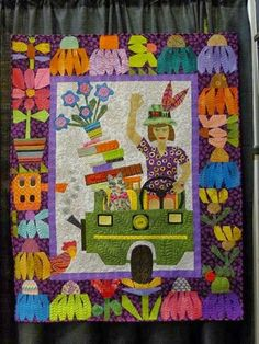 MARY LOU AND WHIMSY TOO: Story Quilts, Hospice. My Friend Ronda and Love for Each Other