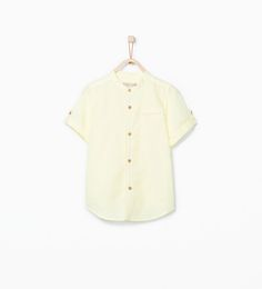 Mao collar shirt-Shirts-Boy (3-14 years)-KIDS | ZARA United States