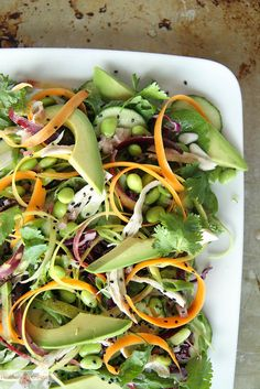 Asian Chicken Salad with Honey Sesame Dressing