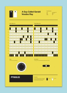 Classic Techno 808 Programing Posters A guy called Gerald - Voodoo Ray