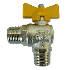 """Tee Handle Angle Ball Valve 1/2"""" M/M Brass Fittings, Home Repair, Plumbing, Industrial, Handle, Tees, Products, T Shirts, Industrial Music"""