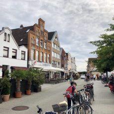 Fahrrad Fahren Auf Dem Ostseeradweg Von Lubeck Nach Wismar