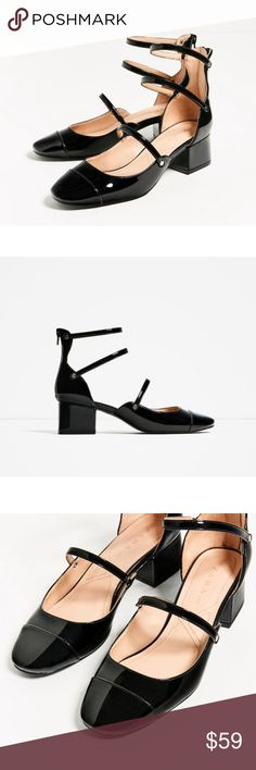 Zara shoes New with tag. EUR 37 US 6.5 Fits size 6.5/7. Zara Shoes
