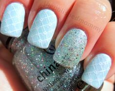 Optical Illusion: Cinderella- Busted, Heartbreaker, Oh Baby! - The Polished Mommy Love Nails, Pretty Nails, Fun Nails, Cinderella Nails, Cinderella Theme, Beauty Nail Salon, Nail Polish Style, Nails Short, Nail Pictures