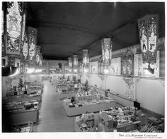 Hudson's Department Store Detroit Michigan inside   Hudson's Department Store Interior (Downtown ...   Old Department Sto ...
