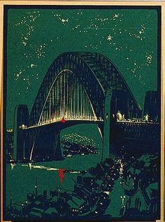 Robert Emerson Curtis - Sydney Harbour Bridge