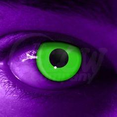 Glow in the Dark contacts! :) FUN!