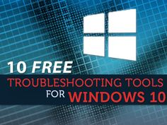 Top 10 free troubleshooting tools for Windows 10 Every Windows 10 user should have a set of troubleshooting tools tucked away for tumultuous times. Here are some favorites for righting the ship Computer Help, Computer Technology, Computer Programming, Computer Science, Computer Tips, Computer Supplies, Computer Projects, Computer Basics, Technology Hacks