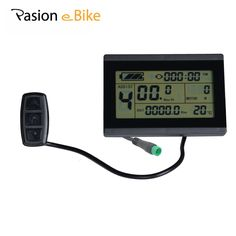 [Visit to Buy] PASION E BIKE 24V 36V 48V  intelligent LCD Control Panel LCD Display Electric Bicycle bike Parts for Sondors Parts USA only #Advertisement
