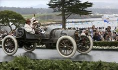 Pebble Beach Concours 2012: Best in Class, V Open-Wheel Race Cars. 1911 Franklin D Race Car. Owner: Ted Davis, Oklahoma City, Okla.