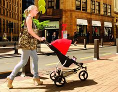 Mountain Buggy Mini stroller - great city stroller!